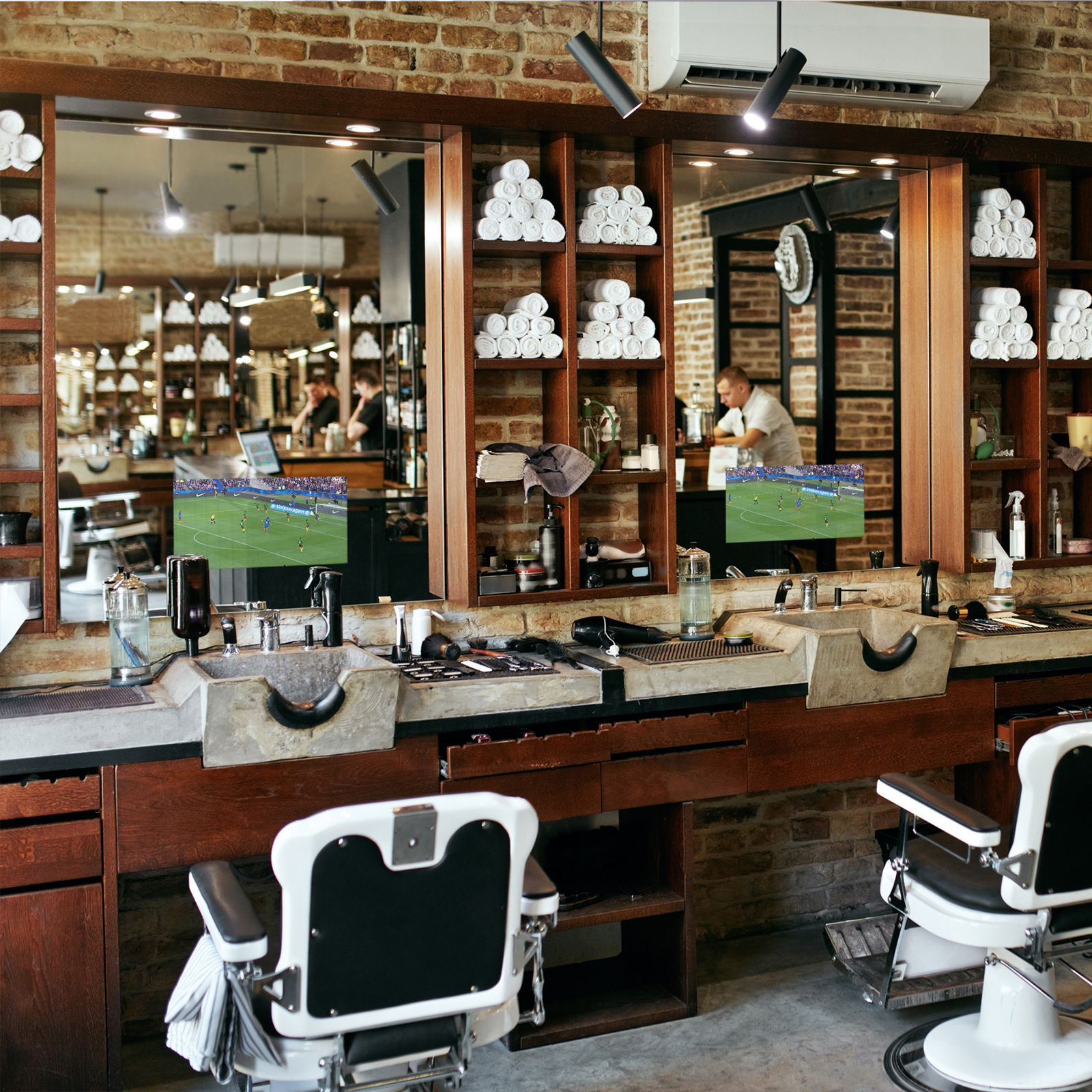 Barber salon de coiffure
